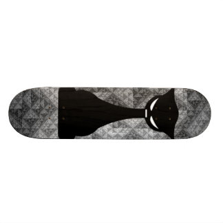 Buddha Cat Skateboard Deck