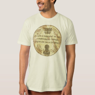 Buddha Chaos is Inherent T-shirt