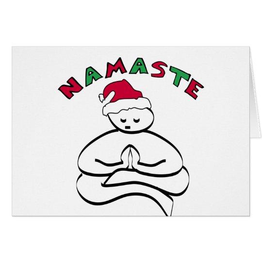 Buddha Christmas Card