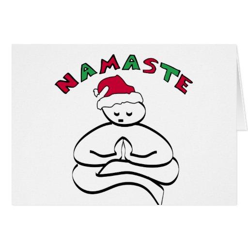 Buddha Christmas Greeting Card