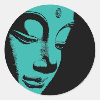 Buddha Classic Round Sticker