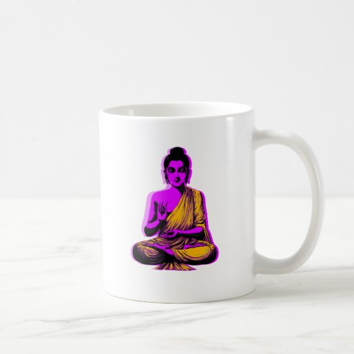 Buddha Classic White Coffee Mug