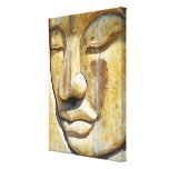 Buddha Close-up Gallery Wrapped Canvas