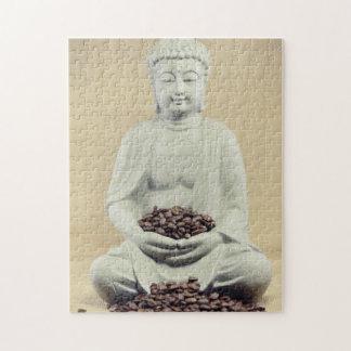 Buddha coffee beans puzzles
