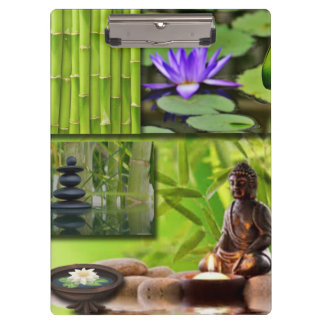 Buddha  Collage Clipboard