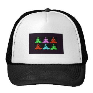 Buddha Collage Mesh Hat