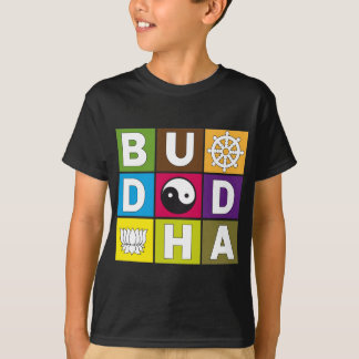 Buddha Colored Blocks T-Shirt