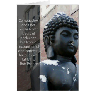 Buddha & Compassion Quote Card