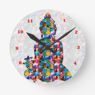 BUDDHA Consciousness Rolled into JEWELS Clock