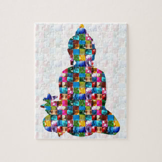 BUDDHA Consciousness : Rolled into JEWELS Jigsaw Puzzle