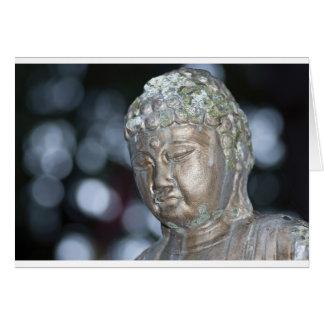 Buddha Contemplating Card