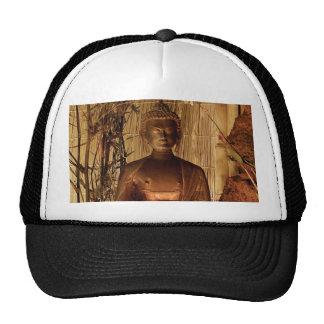 BUDDHA Copper Statue Hat