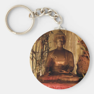 BUDDHA : Copper Statue Keychains