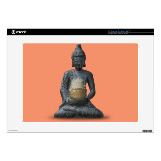 "Buddha Cupcake Enlightenment 15"" Laptop Decal"