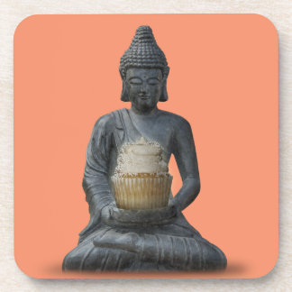 Buddha Cupcake Enlightenment Coaster