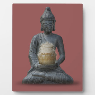 Buddha Cupcake Enlightenment Plaque