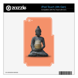Buddha Cupcake Enlightenment Skin For iPod Touch 4G