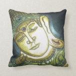 Buddha Cushion Throw Pillow