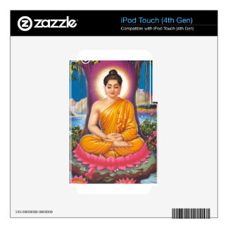 Buddha Decal For iPod Touch 4G