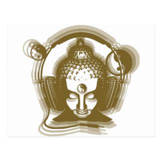 Buddha Deejay Postcard