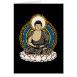 Buddha Dhyana Mudra Greeting Card