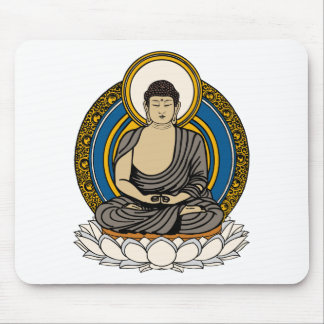 Buddha Dhyana Mudra Mouse Pad