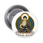 Buddha Dhyana Mudra Pinback Buttons