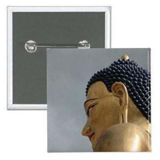 Buddha Dordenma statue 2 Inch Square Button