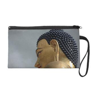 Buddha Dordenma statue Wristlet Purses