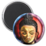 Buddha Dusk/dawn Fridge Magnets