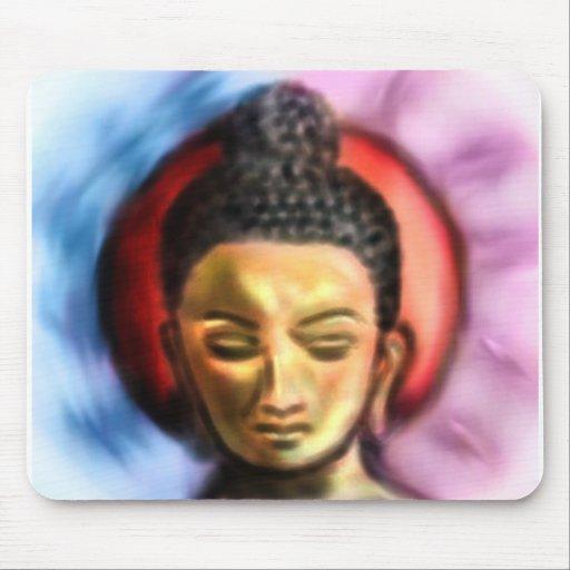 Buddha Dusk/dawn Mouse Pad