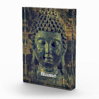 Buddha End of Suffering Acrylic Award