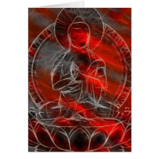 Buddha Energy 2 Greeting Card