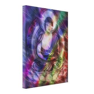 Buddha Energy 3 Canvas Print