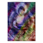 Buddha Energy 3 Greeting Cards