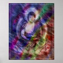 Buddha Energy 3 Print