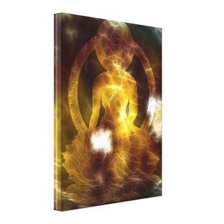 Buddha Energy 4 Canvas Print