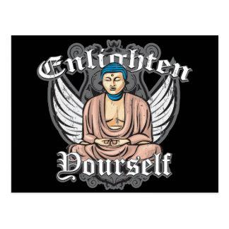 Buddha Enlighten Yourself Postcard