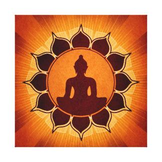 Buddha Enlightened Canvas Print