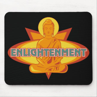 Buddha Enlightenment Mouse Pad