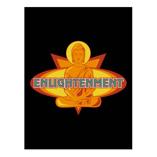 Buddha Enlightenment Postcard