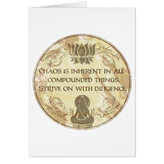 Buddha Eternal Rule Card