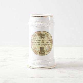 Buddha Eternal Rule 18 Oz Beer Stein