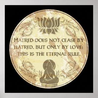 Buddha Eternal Rule Poster