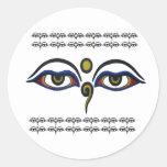 Buddha Eyes Sticker