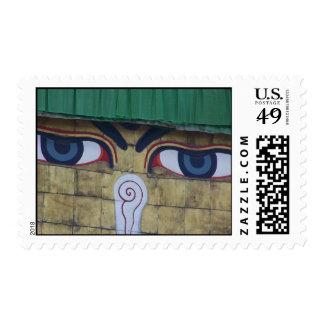 BUDDHA EYES United States postage