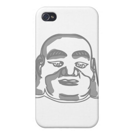 buddha face cover for iPhone 4