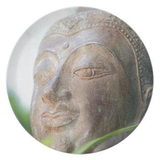 Buddha Face Dinner Plate