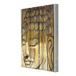 Buddha Face Gallery Wrapped Canvas