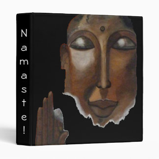 Buddha face on clouds in the sky binder